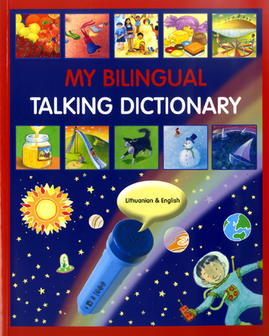 My Bilingual Talking Dictionary English and Lithuanian
