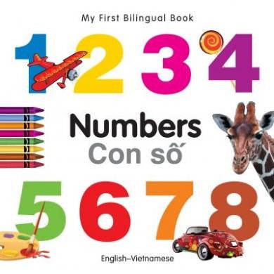 My First Bilingual Book Numbers
