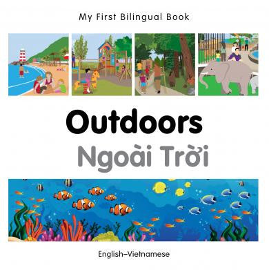 My First Bilingual Book Outdoors