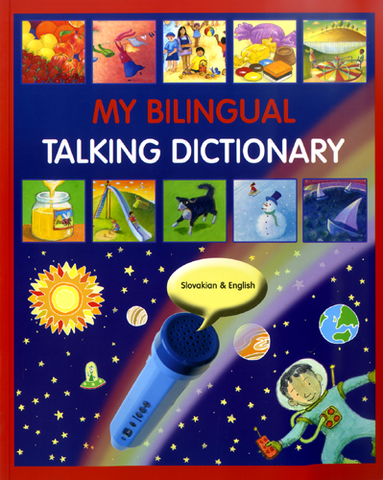 My Bilingual Talking Dictionary English and Slovakian