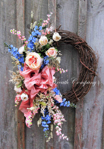 Victorian Rose Garden Wreath