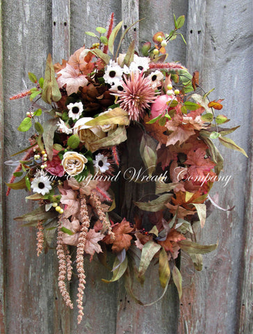 Berkeley Manor Autumn Wreath