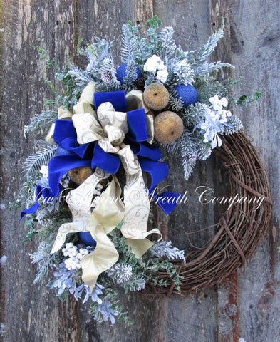 Chestnut Hill Holiday Wreath