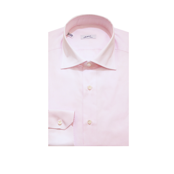 Mattabisch Cotton Shirt (Light Pink)