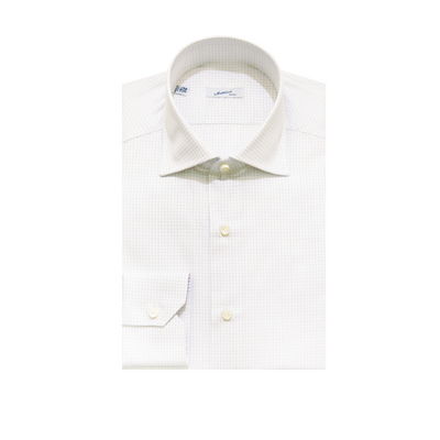 Mattabisch Cotton Shirt (Gray Grid)