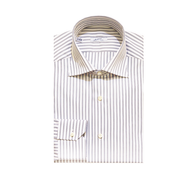 Mattabisch Cotton Shirt (Blue & Gray)