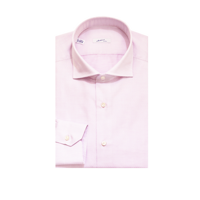 Mattabisch Cotton Shirt (Pink Dots)