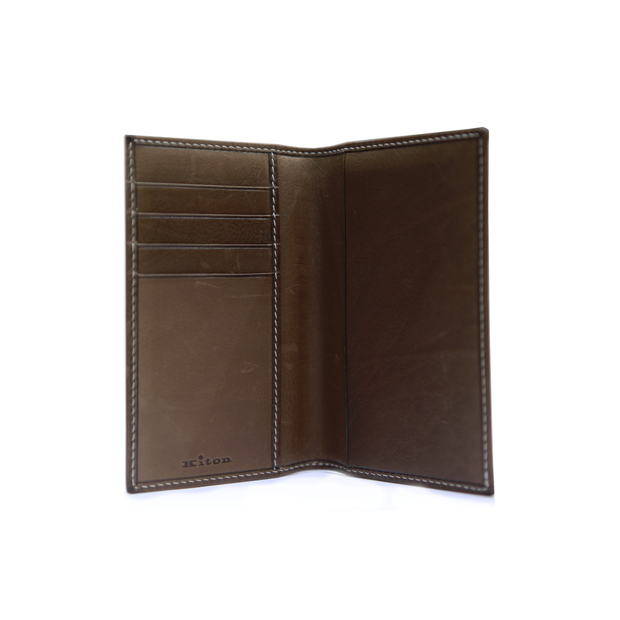 KITON NAPOLI LEATHER WALLET (LARGE)