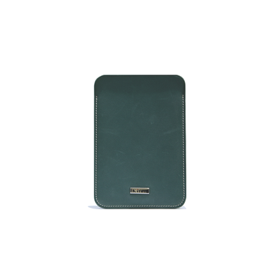 KITON NAPOLI LEATHER WALLET (DEEP GREEN)