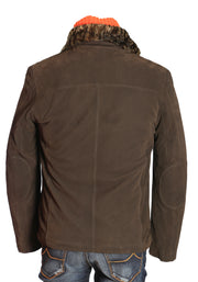 Kiton Outerwear (with Detachable Mink Fur Collar)