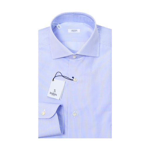 Classic Check Dress Shirt - Sky Blue
