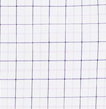 Classic Double Check Dress Shirt - White / Pink