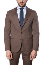 Brunello Cucinelli - Micro-Houndstooth  Suit - Chocolate