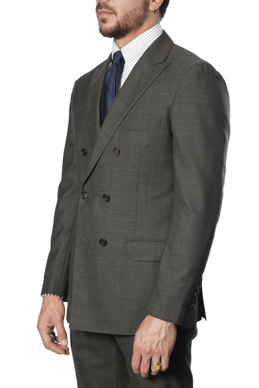Brunello Cucinelli - Super 110's Suit - Chocolate