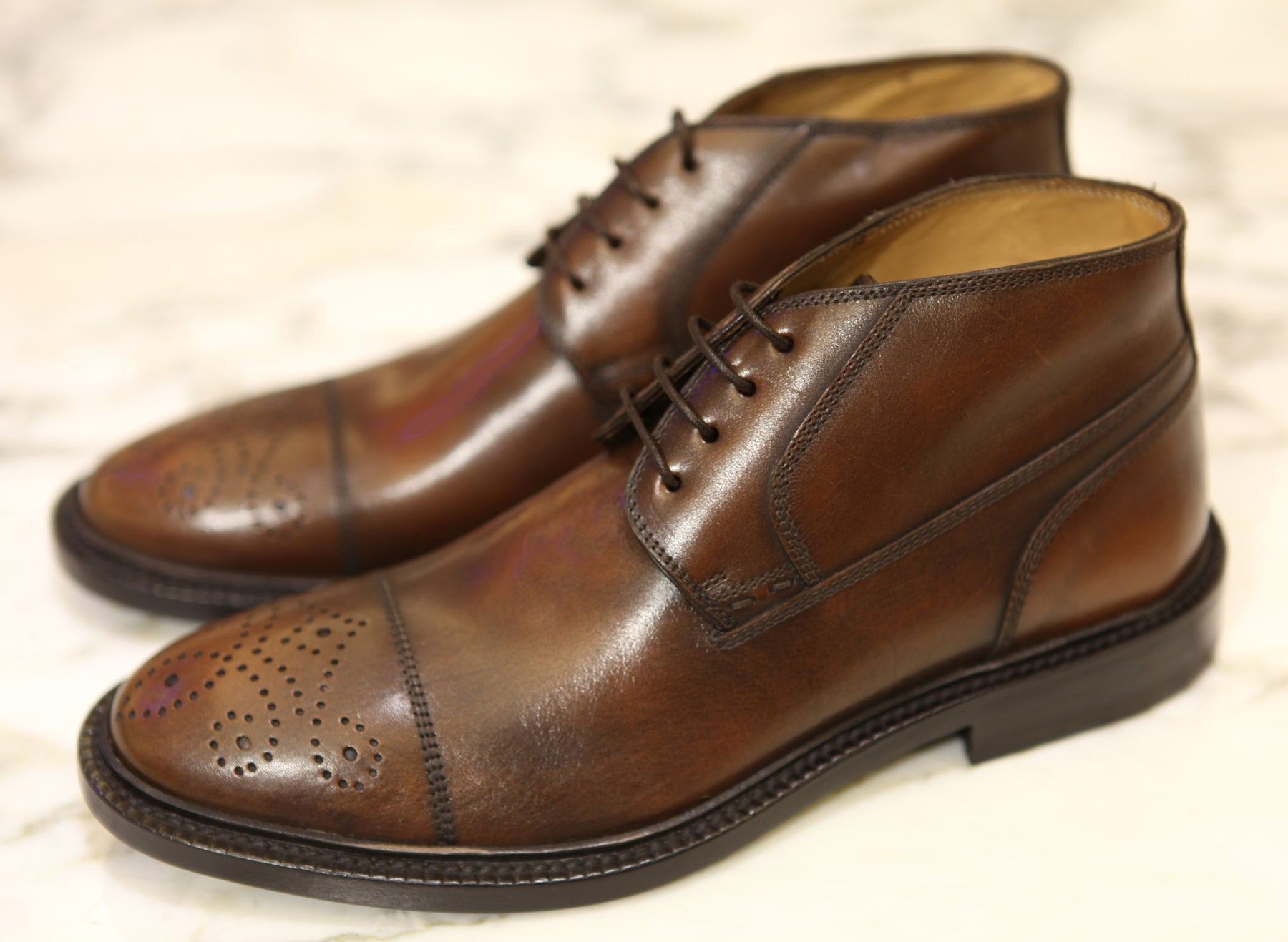 KITON NAPOLI DRESS SHOES (BLACK EDITION)