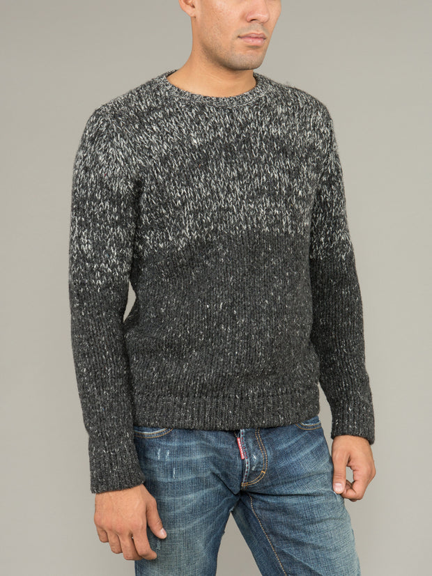 MALO CREW NECK WOOL SWEATER