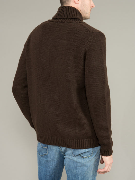 MALO DOUBLE BREASTED SWEATER
