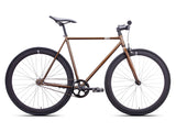 6KU Dallas Amber/Black Single Speed Bike
