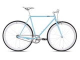 6KU Frisco 2 Teal/White Single Speed Bike