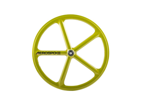 Aerospoke Wheel-Fiesta Green