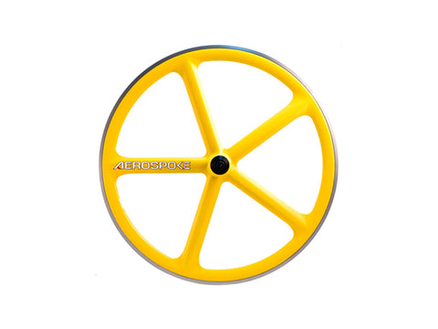 Aerospoke Wheel-Yellow