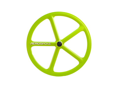 Aerospoke Wheel-Lime Green
