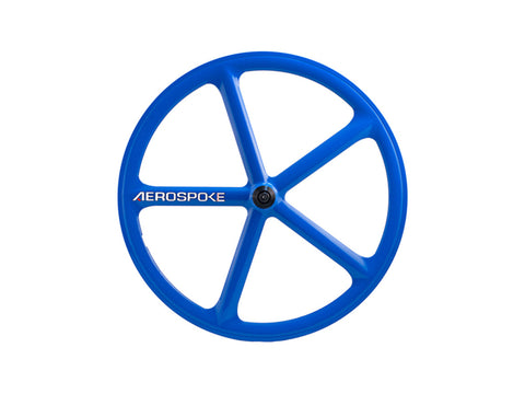 Aerospoke Wheel-Royal Blue