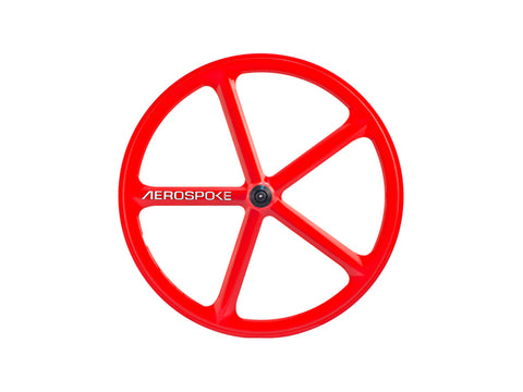 Aerospoke Wheel-Red