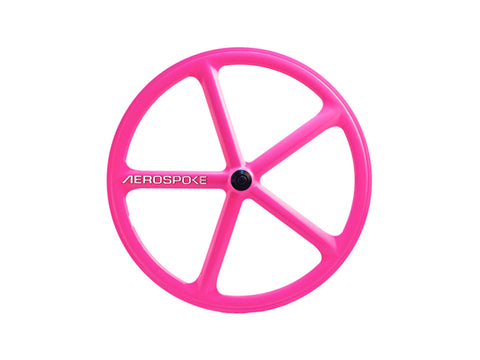 Aerospoke Wheel-Hot Pink