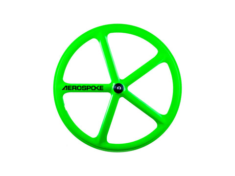 Aerospoke Wheel-Mean Green