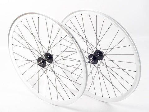 Shroom Deep Section Wheel Set – White/Black