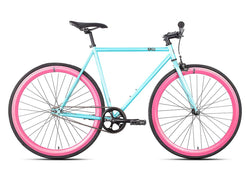 6KU Akoya 2 Blue/Pink Single Speed Bike