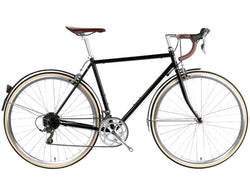 6KU Troy 16spd City Bike - Del Rey Black