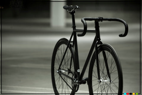 State Bicycle Co Matte Black III Fixed Gear Single Speed Track Bike