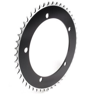 Eighthinch 6061 Track Chainring 144bcd - Black, Gold, White, Silver