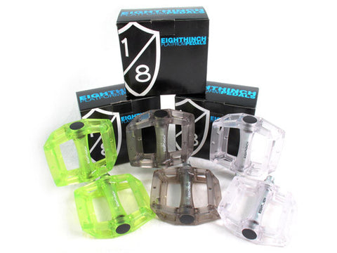 Eighthinch Plastic Pedals 9/16 For Fixed Gear/Single Speed