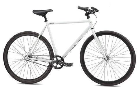 Se Bikes Tripel 2013 55cm Matte Grey 3 Speed Coaster Brake Single Speed Bike