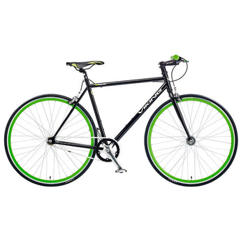 Viking Ronin 2014 Single Speed Bike Fixie Black Green