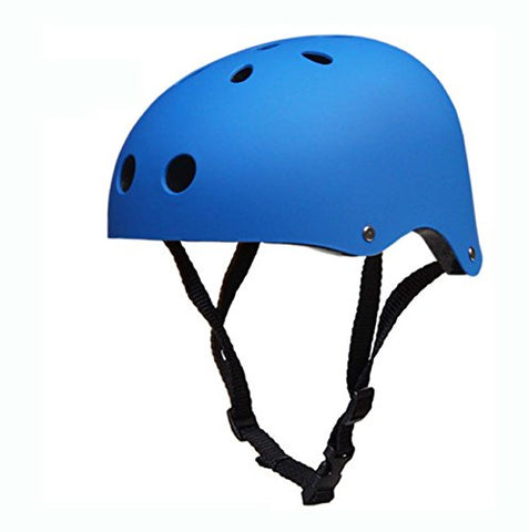 Mosk New Cycles Classic Commuter Feral Bullet Protection Deluxe Bike/Scooter/Skate/Hiking/Drift Helmet, Skateboarding, Outdoors Sports, For Head (Matte Blue)
