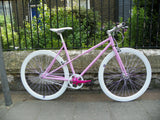 Pink Ladies 54cm Single Speed Fixed Gear Bike
