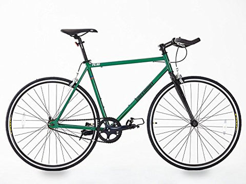 Steel Frame Single Speed/fixed Gear Bike, Unique Model, Hi Spec. Green