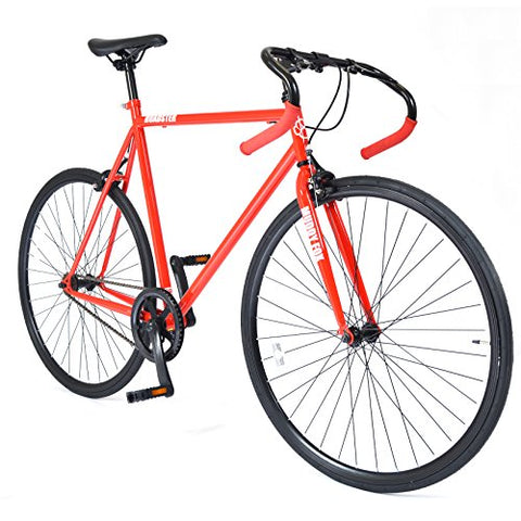 Muddyfox Roadster 700C Wheel Gents Touring Road Bike in Red and Black - Single Speed