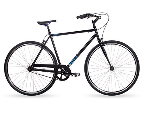 Feral Unisex Zuma Cruiser Bike, Black, 52 cm