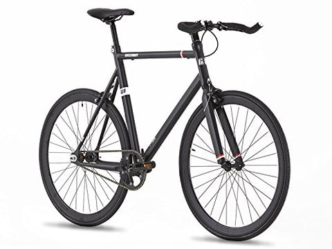 62CM Hi Spec Aviation Grade Aluminium Fixed Gear Bike - Single Speed - Flip Flop Wheel- Light Weight - 9 KG