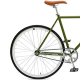 Critical Cycles Harper Coaster Fixie Style Single-Speed Commuter Fixed Gear Bike
