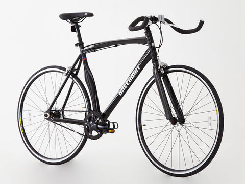Alloy single speed/Fixed gear bike, 2016 Unique model, Hi spec. Black