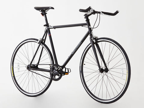 Steel Frame single speed/Fixed gear bike, 2016 Unique model, Hi spec.Matt black