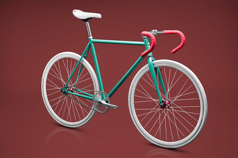 Wlkie Warhol Fixed Gear Single Speed Fixie Urban Road Bike