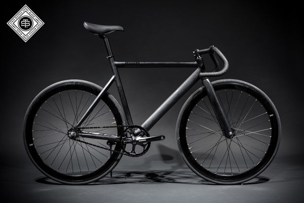 State Bicycle Co Matte Black - 6061 Black Label Fixed Gear Bike