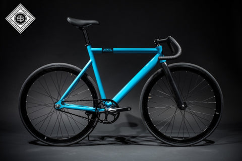 State Bicycle Co Laguna Blue - 6061 Black Label Fixed Gear Bike